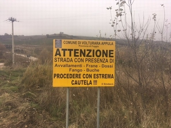 Strada pericolosa, il Sindaco di Volturara minaccia di chiudere la Sc Amborchia