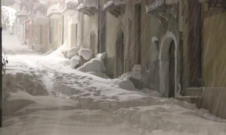Rassegna stampa sull'ondata di gelo e neve a San Bartolomeo