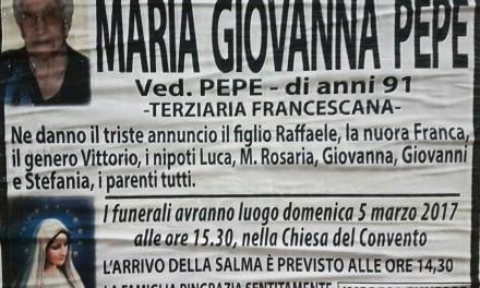 Maria Giovanna Pepe