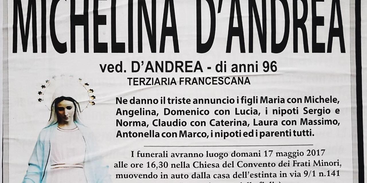Michelina D'Andrea