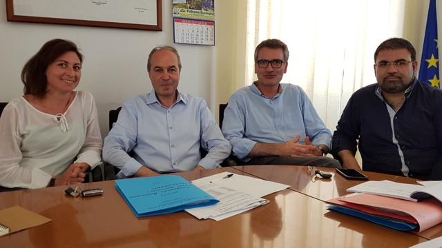 Comunità montana del Fortore, riunione di giunta e incontro col sindaco di San Bartolomeo in Galdo