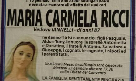 Maria Carmela Ricci