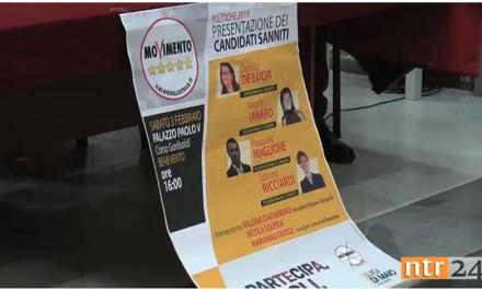 """Il M5s presenta i candidati sanniti pronti alla """"rivoluzione gentile"""" dell'Italia"""