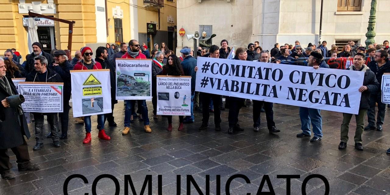 Viabilità Negata denuncia: ancora nessun lavoro è stato avviato nonostante il via libera dalla Provincia