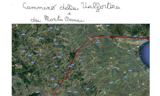 Cammino della Valfortore e dei Monti Dauni settentrionali; sulle tracce di San Pio da Pietrelcina e di San Michele Arcangelo.