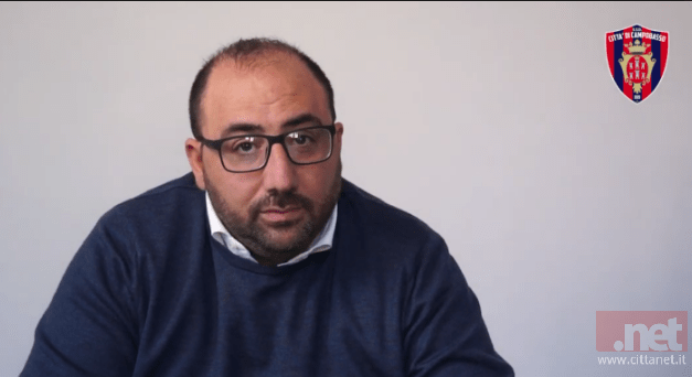 Campobasso calcio, Nicola Circelli cede l'intero pacchetto azionario ma resta presidente fino al giugno 2020