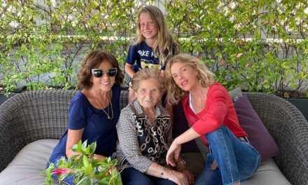 """Alessia Marcuzzi e il ricordo della nonna di Roseto Valfortore: """"Da piccola venivo qui, cose semplici e persone genuine"""""""