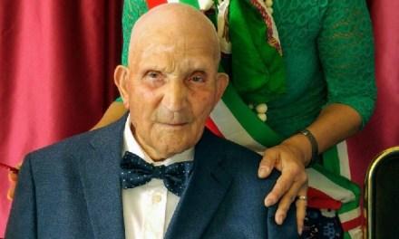 """E' morto 'Zio Giovanni', l'uomo più anziano d'Italia nato e vissuto a Roseto Valfortore: aveva 111 anni e 60 giorni"""""""