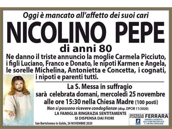 Nicolino Pepe