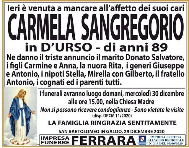 Carmela Sangregorio