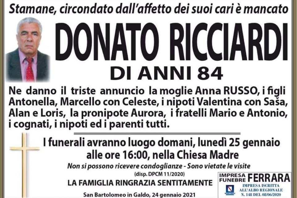 Donato Ricciardi