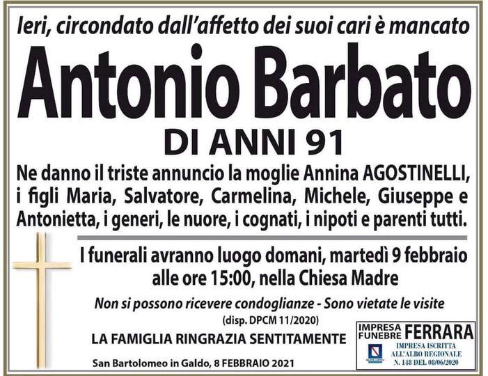 Antonio Barbato