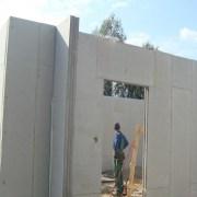 Một công trình xây dựng dùng tấm bê tông nhẹ Hightwall làm tường