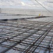 Một công trình xây dựng sử dụng sàn bê tông Deck