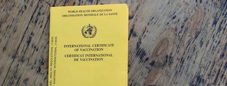 international Vaccination card Panama
