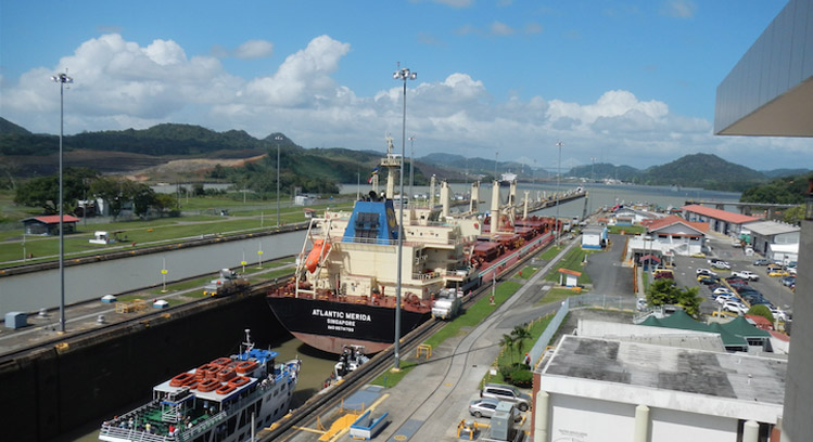 Col 243 N Province And The Panama Canal