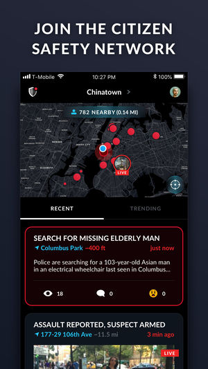 'Citizen,' the app that alerts you when crime is happening nearby, rolls out in San Francisco Bay Area