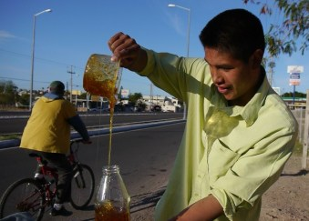 Michoan Honey Vendor