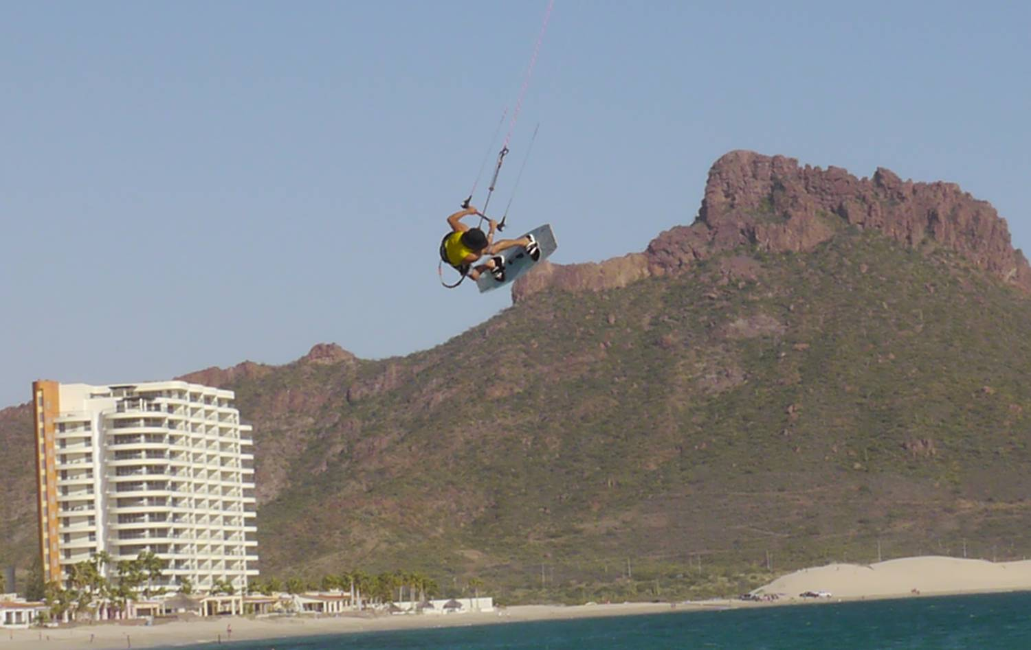 October winds mean Kiteboarding in San Carlos at Algodones Beach!