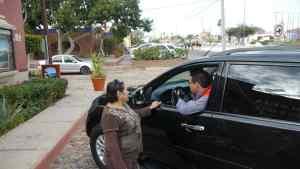 Sagitaro from Bellas Artes parking lot