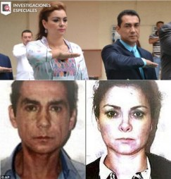 Abarca Y Pineda before after arrest