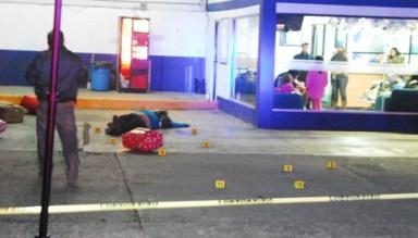 Ricardo Garcia Rojas shot dead at TAP Bus station