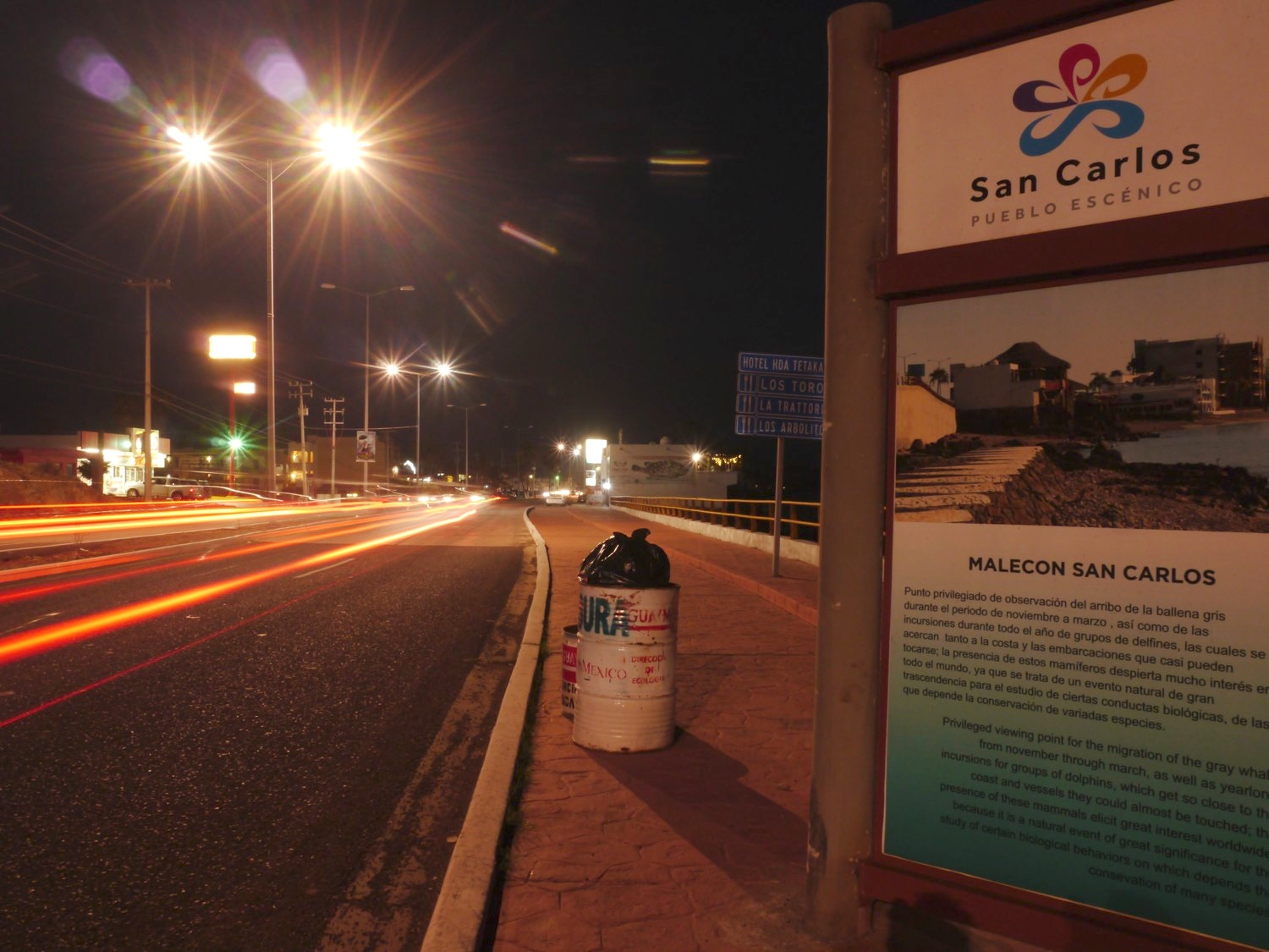 San Carlos can never be a Pueblo Escenico as long as it is owned by Guaymas
