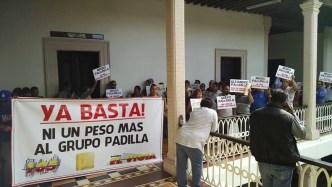 Padilla Grupo Protesta