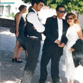 Carl Anna Ricki Nov 6th 1999 my wedding