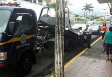 Operativo de tránsito en Ciudad Quesada