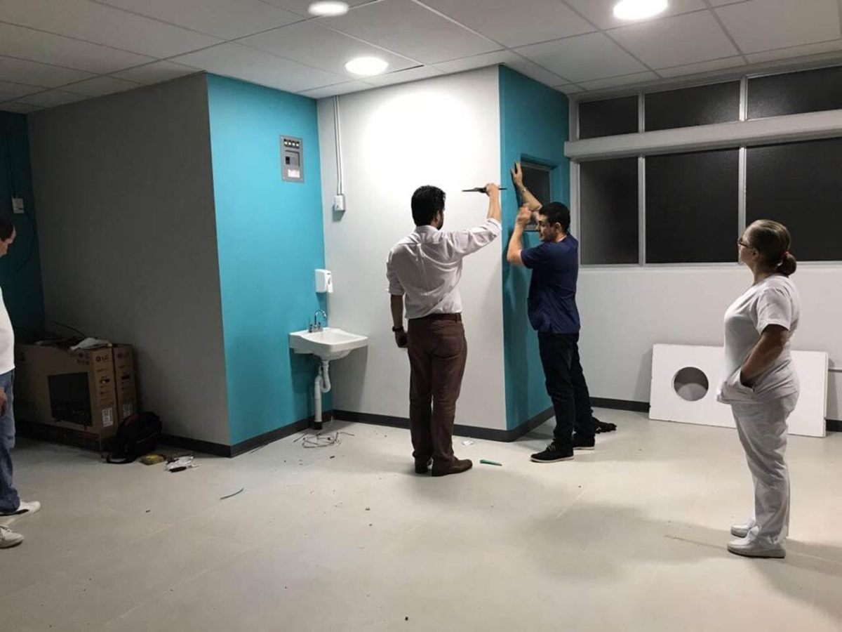 """En 15 días, San Carlos inaugura su """"Hospital de Día"""""""