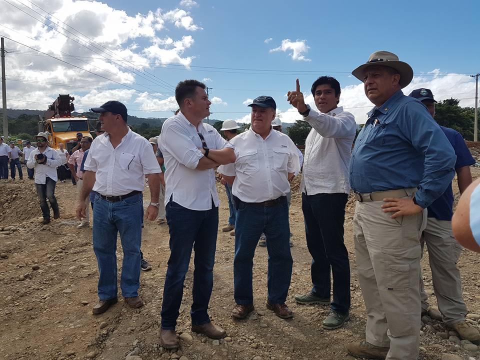 Presidente Solís inspeccionará Punta Norte este miércoles