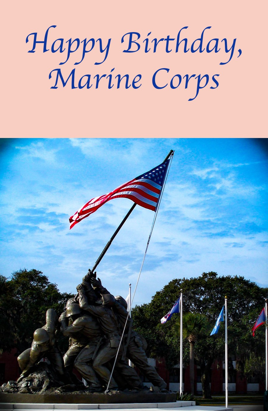 November 10 marks the birthday of the United States Marine Corps.