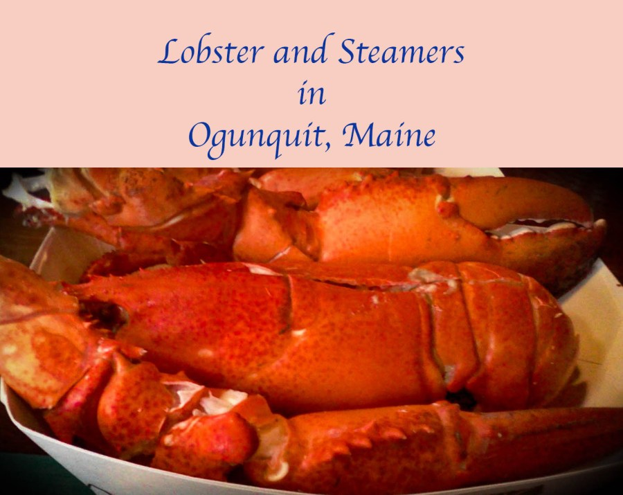 There's no place like #Maine for lobster and steamers.