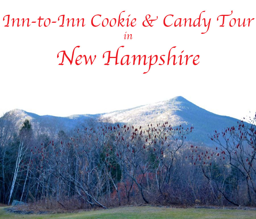 Our mission was the annual Inn-to-Inn Cookie & Candy Tour.