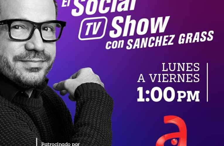 SÁNCHEZ GRASS estrena show por América Tevé.