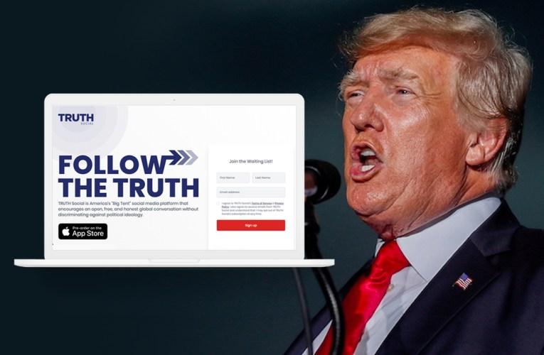 Trump anuncia su propia red social.