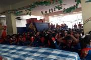 జెండా పండగ జరుపుకున్న అల్పసంఖ్యాక పాఠశాల విద్యార్థినులు