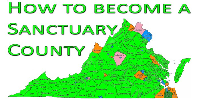 How to become a Sanctuary County