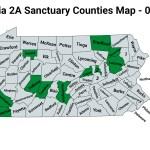 Pennsylvania Second Amendment Sanctuary Updated Map June 01 2021