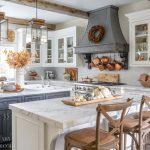 Farmhouse Kitchen Fall Decorating Ideas Sanctuary Home Decor