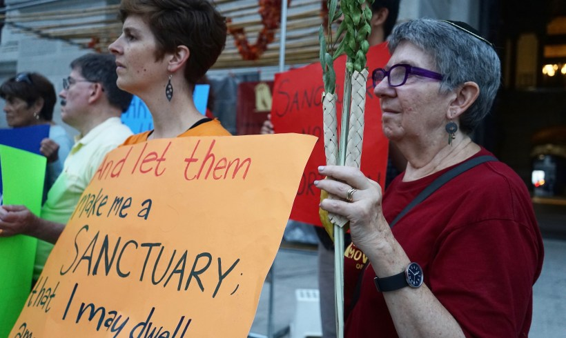 200+ PA Clergy deliver letter opposing Anti-Sanctuary bill, HB 1885