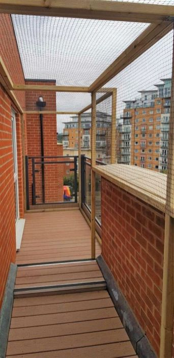 Catio for balcony terrace