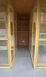 Cattery building