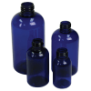 Plastic Bottle-PET-10x250mls-Blue-Clear-Amber