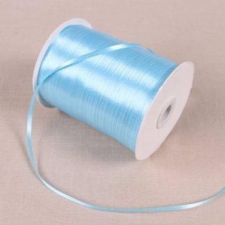 1/8″ 3mm Satin Ribbon for packing and bow & Garment Accessories 10y/lot 11 Blue