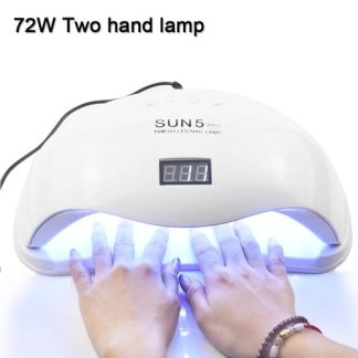 36W UV Lamp LED Nail Dryer Light CCFL Diamond Shaped Curing Sensor Machine for UV Gel