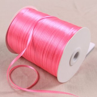 1roll 5Yard (20mm) red color Organza Ribbon Wedding Party High Quality Craft Satin Woven Edge Sheer