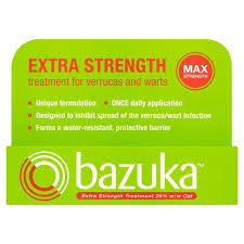 Bazuka-Extra Strength-Treatment for Verucas and warts-6gms