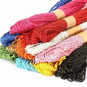 Paper Raffia-12pcs-30M-DIY-Twisted Paper-Raffia Craft-Gift Wrapping Rope